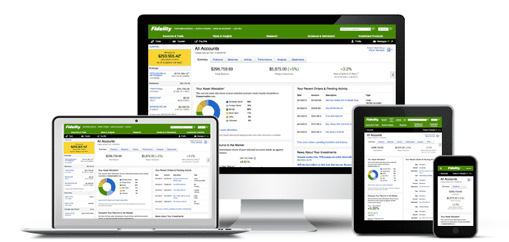 fidelity investments brokerage trading platform