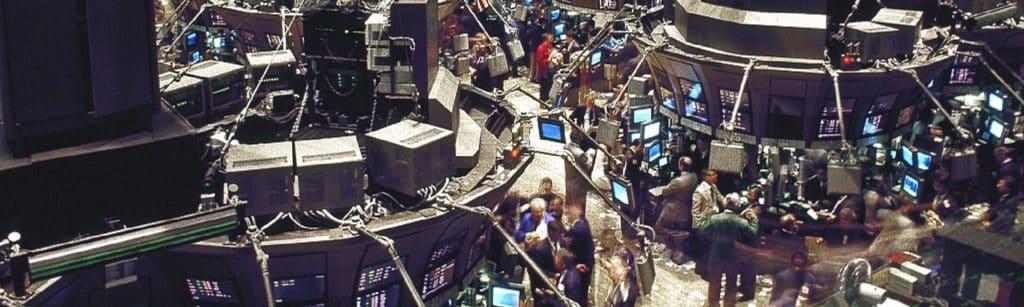 stock exchange vintage