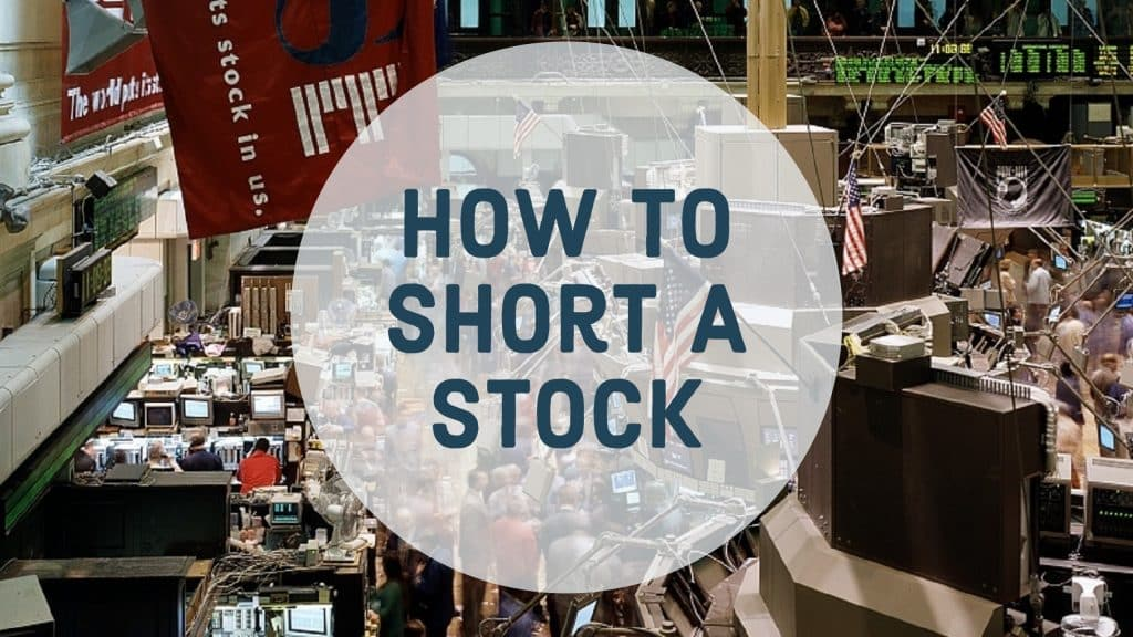 how to short a stock
