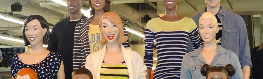 mannequins at the mall