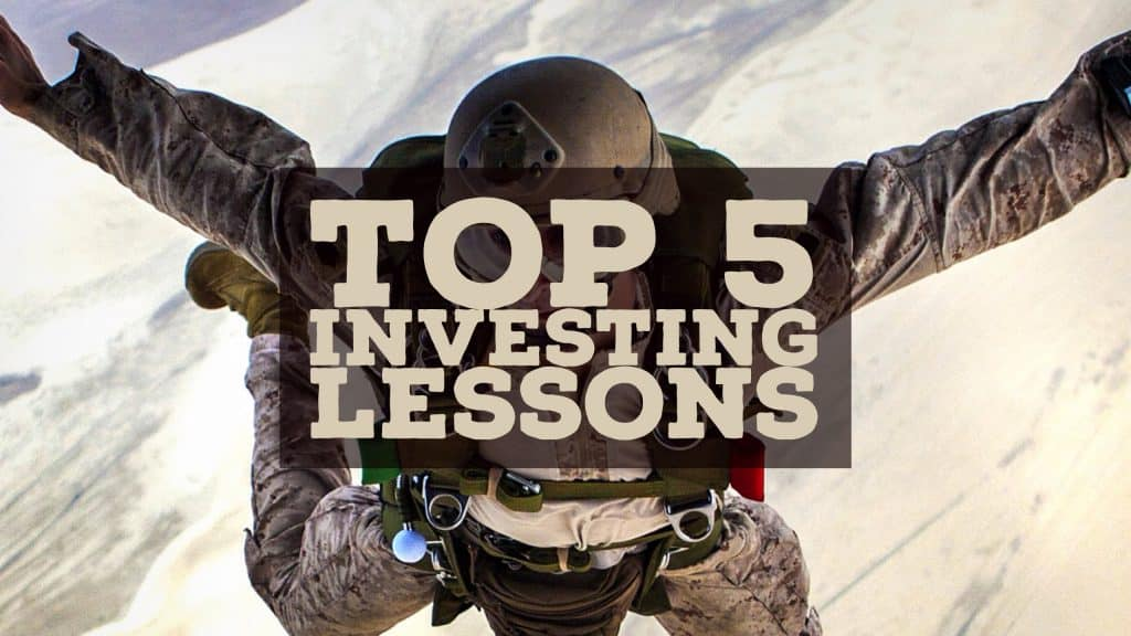 top 5 investing lessons