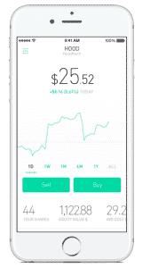 robinhood app screenshot