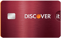 Discover it cash credit card garnet