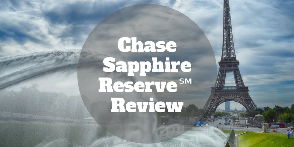 chase sapphire reserve review