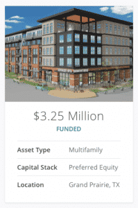 realtyshares multi family preferred equity