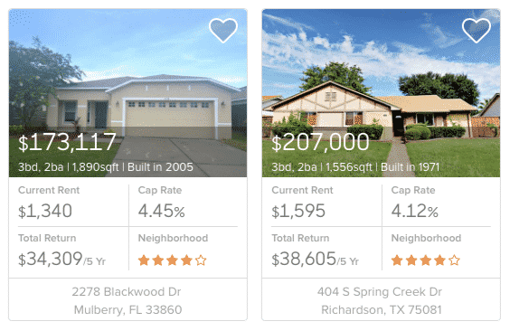 roofstock advisor picks properties
