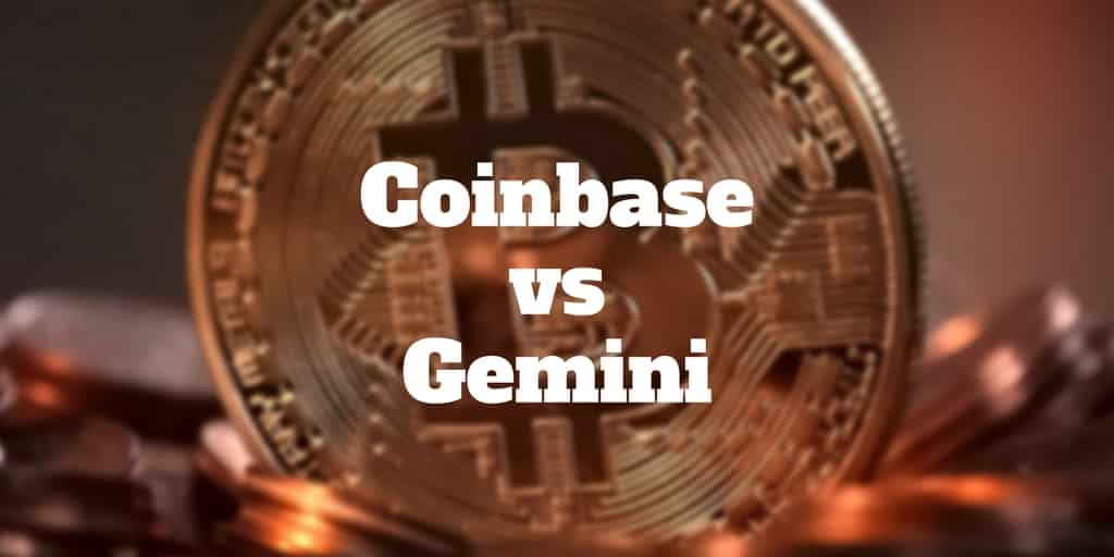 coinbase vs gemini review 2018