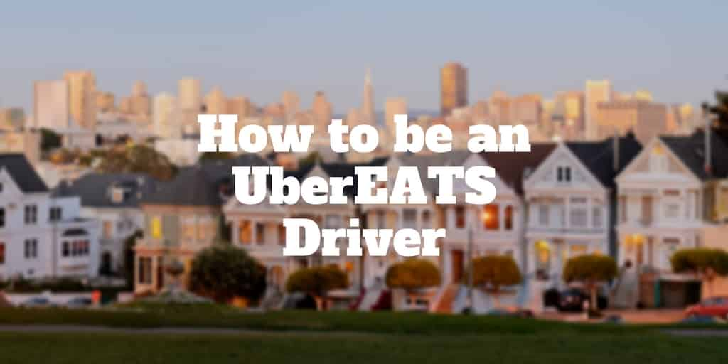 become ubereats driver