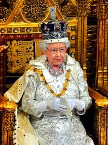 queen of england