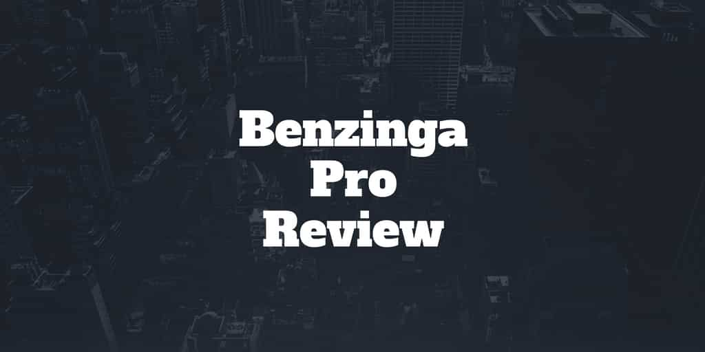 benzinga pro review