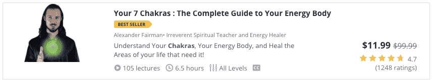 udemy course your 7 chakras