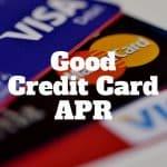good credit card apr