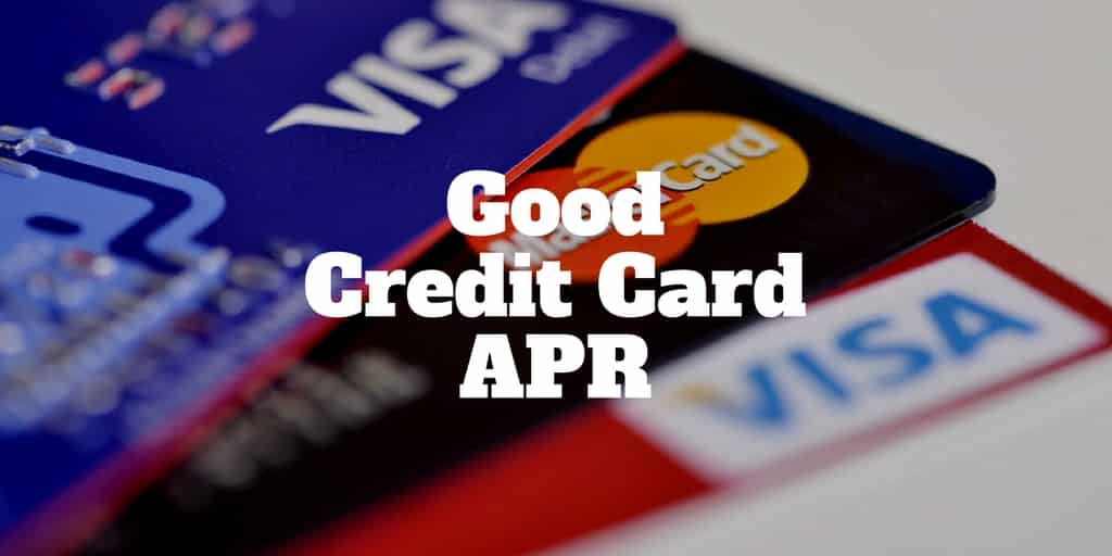 good credit card apr
