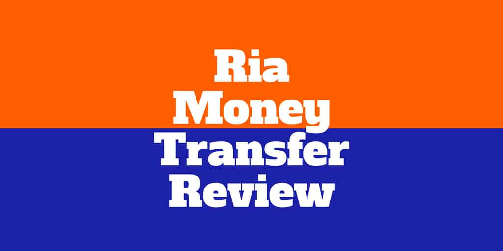 ria money transfer review