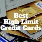 best high limit credit cards