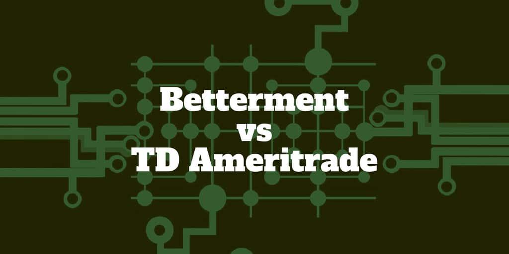 betterment vs td ameritrade essential portfolios
