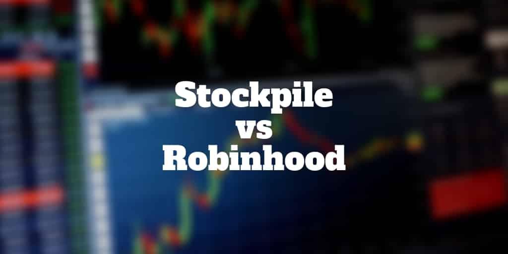 stockpile vs robinhood