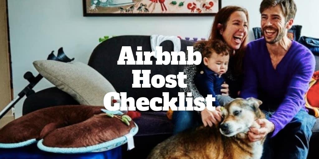 airbnb host checklist