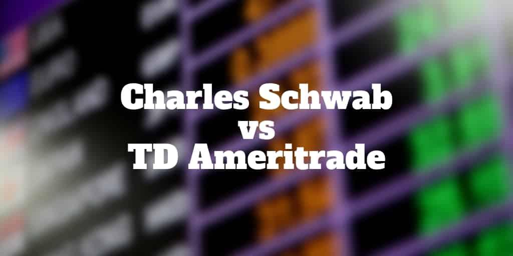 charles schwab vs td ameritrade