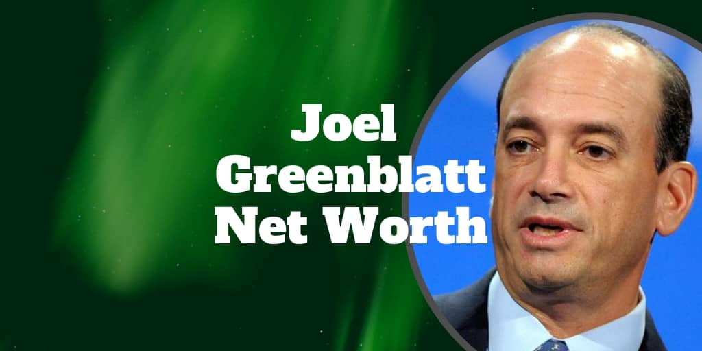 joel greenblatt net worth