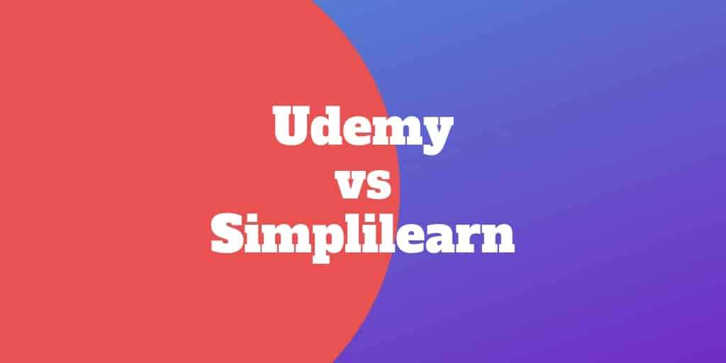 udemy vs simplilearn