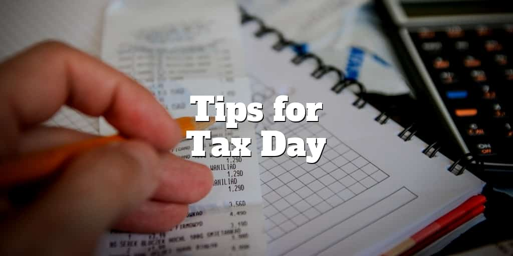 tips for tax day