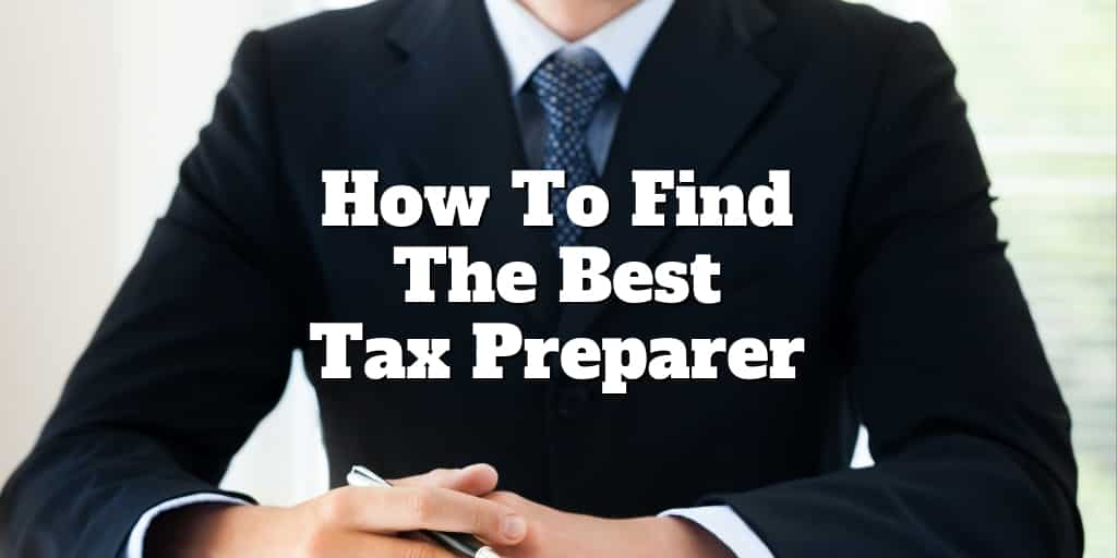 how to find the best tax preparer