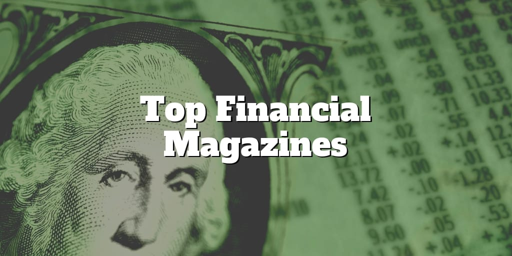 top financial magazines