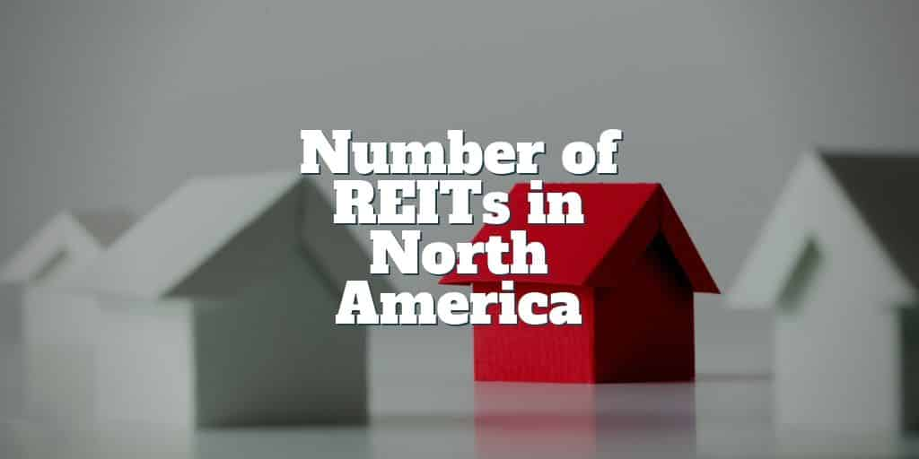 how many reits in north america