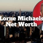 lorne michaels net worth