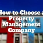 choose property management company