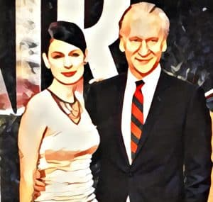 bill maher and girlfriend