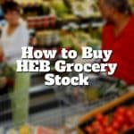 how to buy heb grocery stock