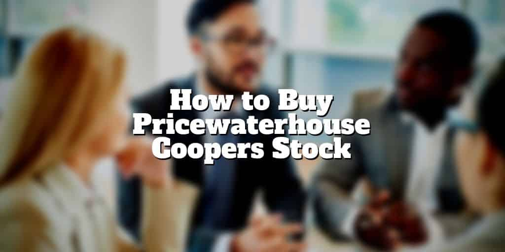 how to buy pricewaterhouse coopers stock