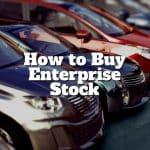how to buy enterprise stock
