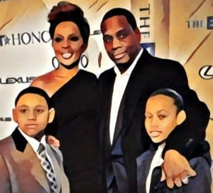 mary j blige and family