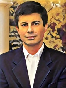 pete buttigieg portrait